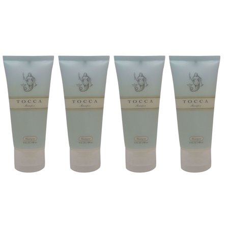 Tocca Cucumber and Grapefruit Shampoo Lot of 4 each 2oz. Total of 8oz