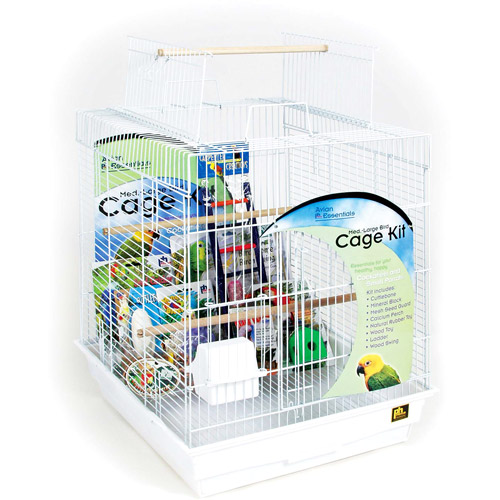 Prevue Hendryx PP-91360 Avian Essentials Playtop Bird Cage Kit
