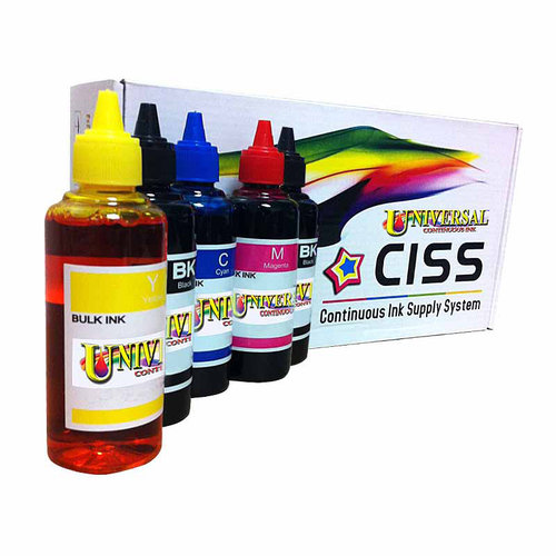 Universal Inkjet Canon PGI-250/CLI-251 KCMY Continuous Ink System Refill Pack (for Canon ip7220/MG5420/MX922/MG5520/MG6420)