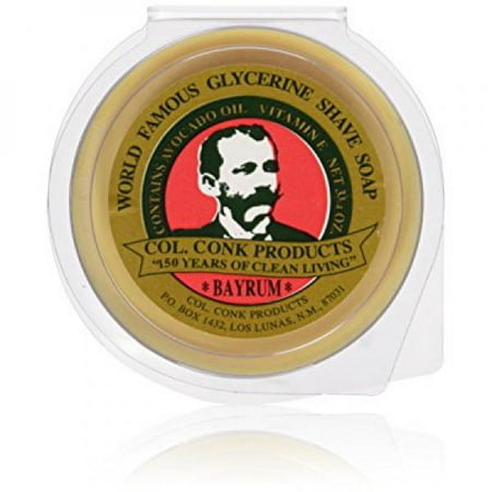 Colonel Conk Products - Shave Bar Soap - Bay