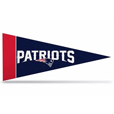 8 Pack Official Licensed New England Patriots NFL Mini Pennants, 4