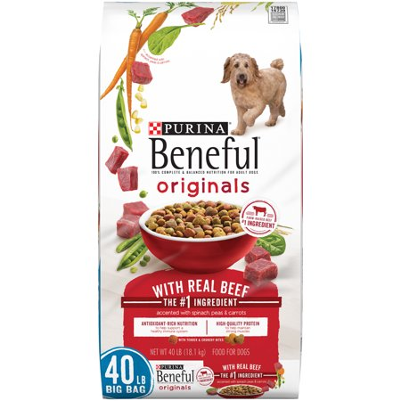 Purina Beneful Originals With Real Beef Adult Dry Dog Food - 40 lb. (Best Dog Food For Dogs With Liver Disease)