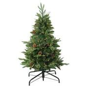 Northlight 4 ft. Medium Mixed Winter Pine Pre Lit Christmas Stake Tree
