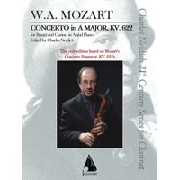 Clarinet Concerto, K. 622 : Critical Urtext Edition Clarinet and Piano Reduction