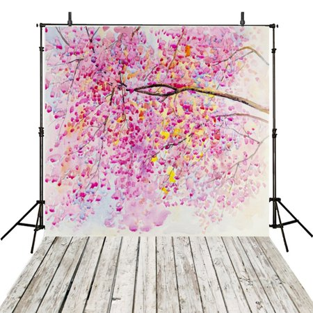 EREHome Polyester Fabric 5x7ft Floral Photography Backdrops Children Photography For Backdrop Girls Photo Backgrounds For Photo Studio - image 1 of 2
