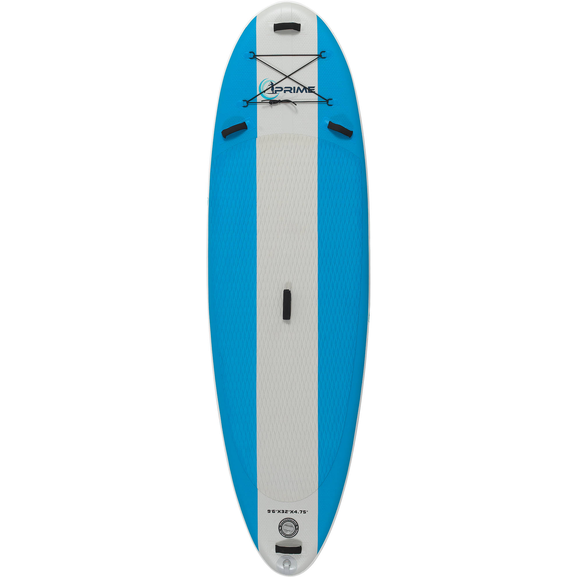 Prime Paddleboards 9'6 Inflatable SUP Package with Stand Up Board, Adjustable Paddle, High... by