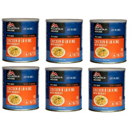 Mountain House Freeze Dried Food Chicken a La King-6 Cans...