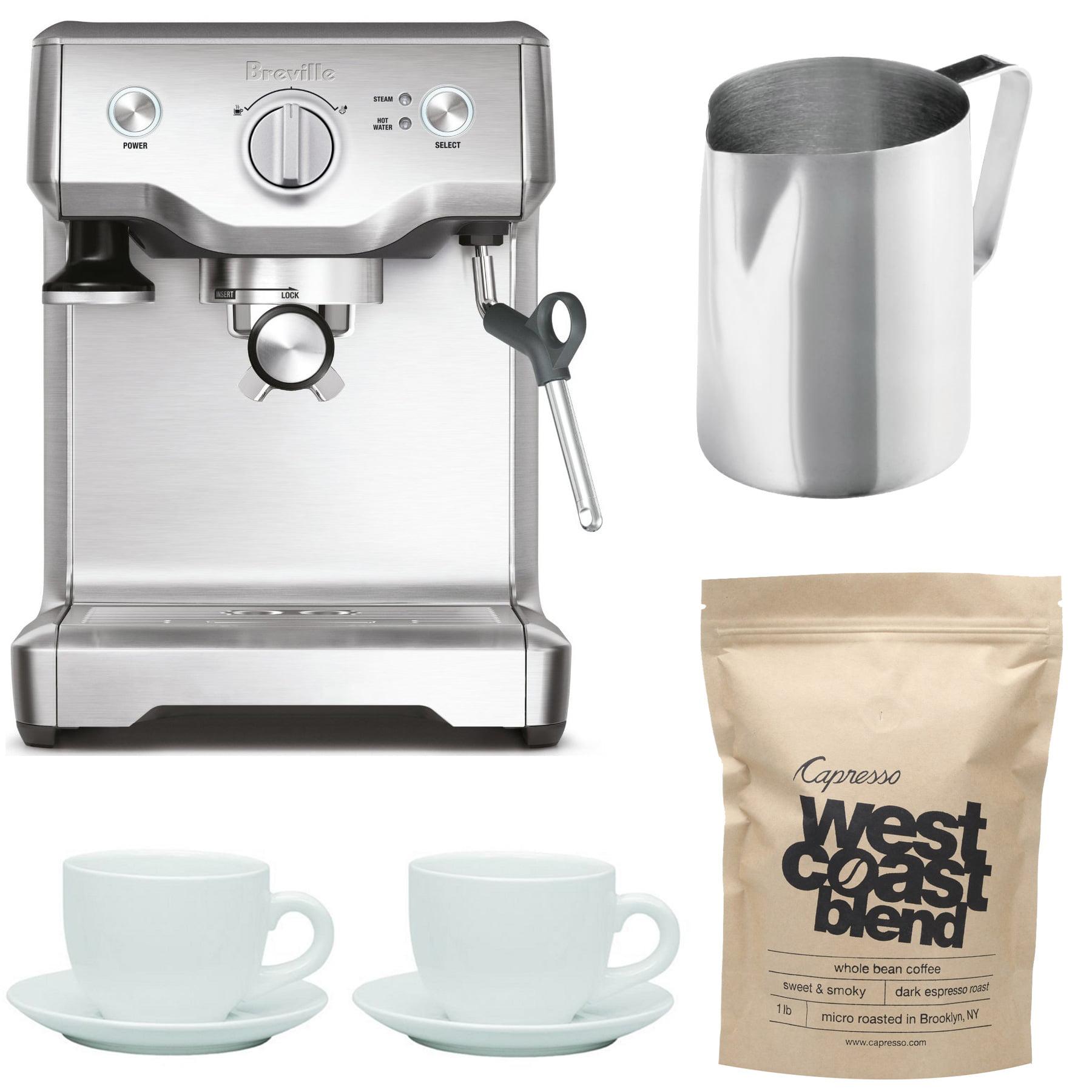 Breville BES810BSS The Duo-Temp Pro Espresso Machine w/ F...