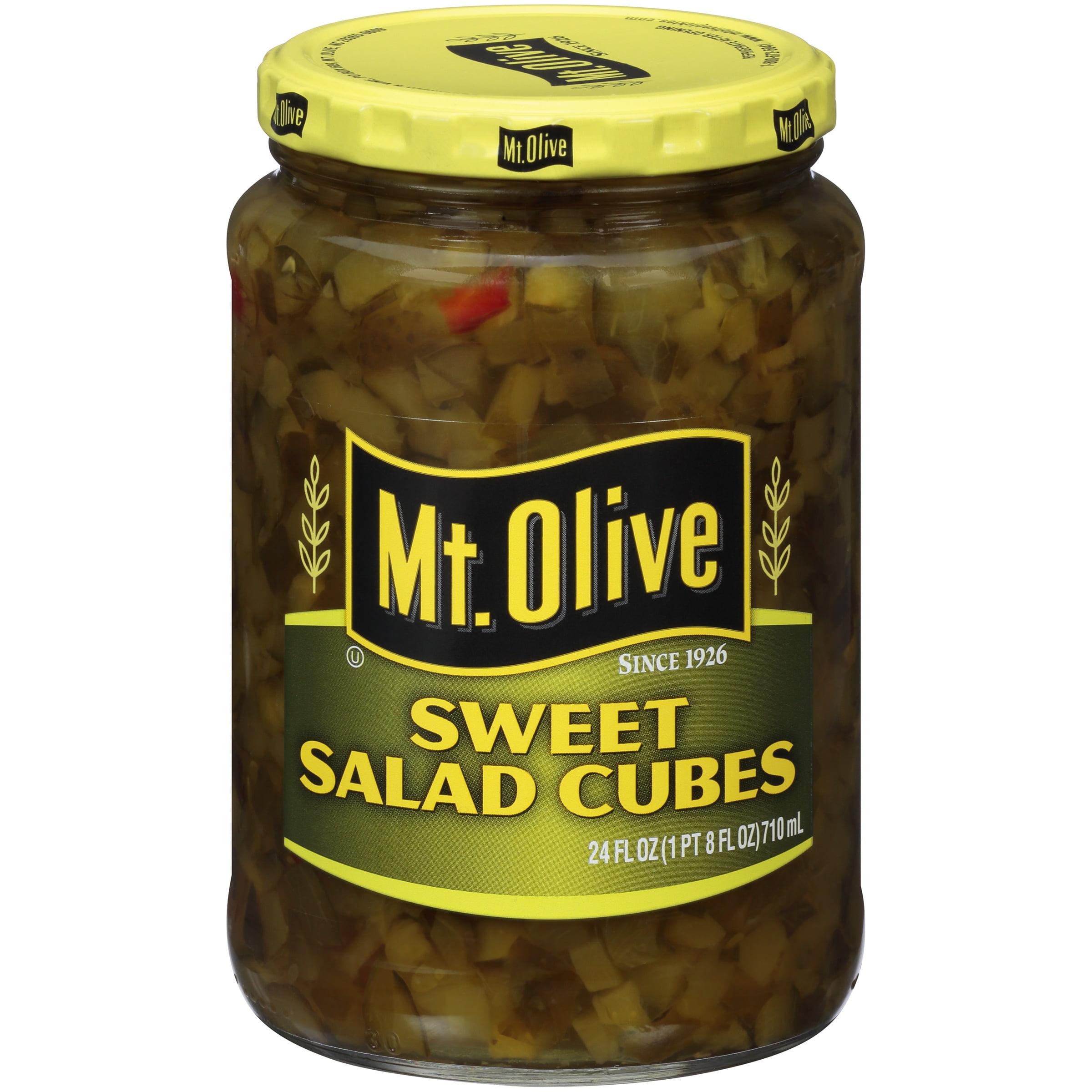 Mt. Olive Sweet Salad Cubes, 24 oz - Walmart.com