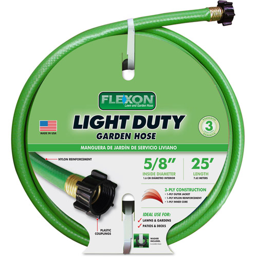 Flexon 25' Light Duty Garden Hose