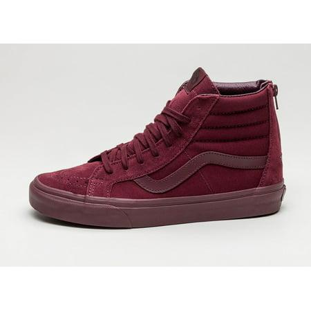 28c6606807 VANS - Vans Sk8 Hi Reissue Zip Mono Port Royale Men s Skate Shoes Size 10 -  Walmart.com