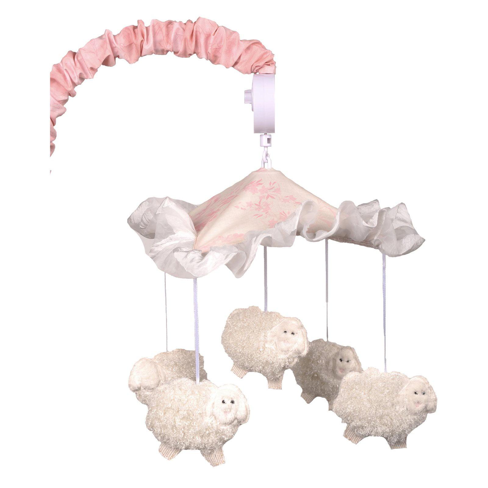 Cotton Tale Designs Heaven Sent Girl Musical Mobile by Cotton Tale Designs