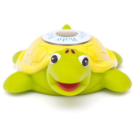 Ozeri Turtlemeter, the Baby Bath Floating Turtle Toy and Bath Tub Thermometer