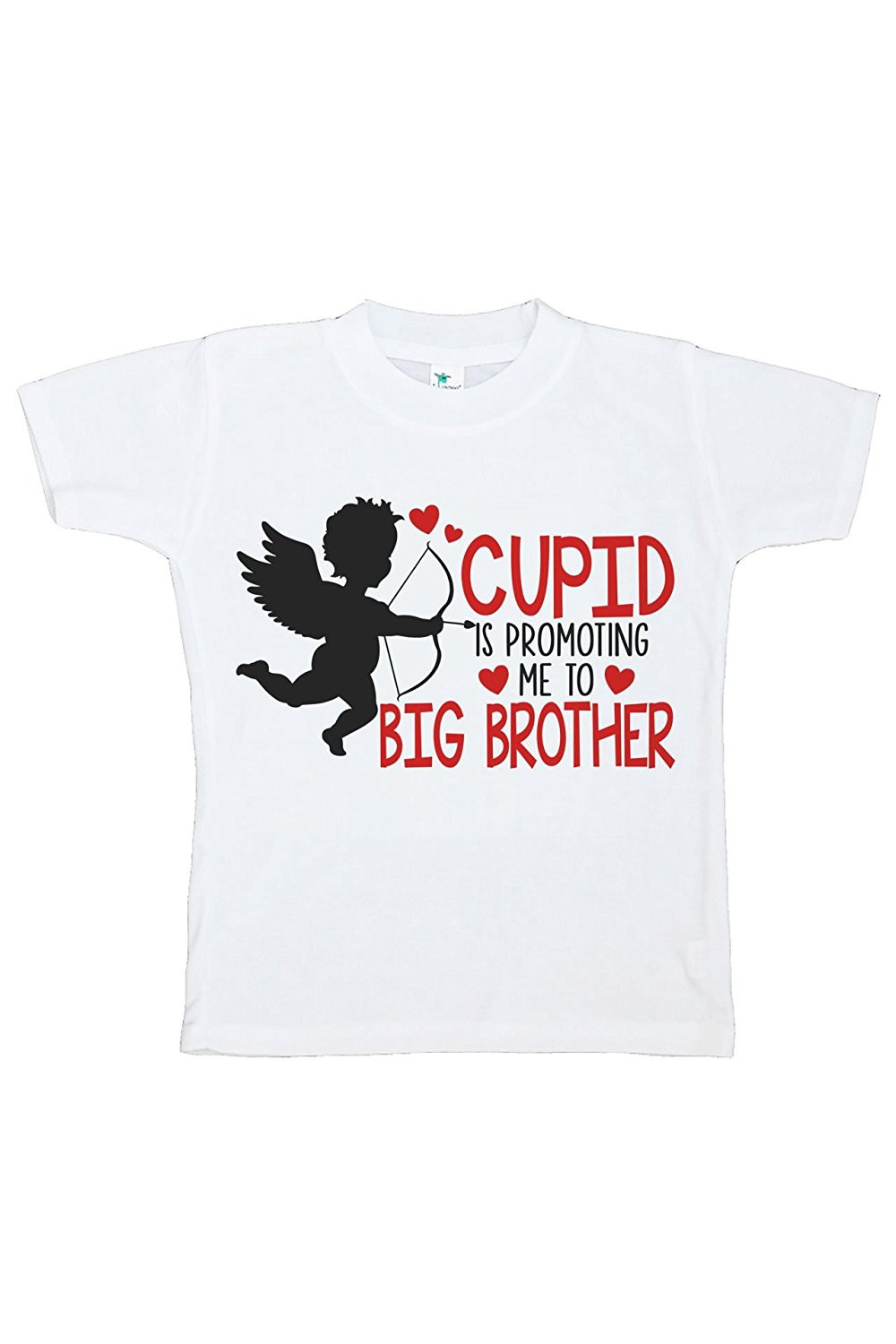 Custom Party Shop Boy's Big Brother To Be Valentine's T-shirt - Large Youth (14-16) T-shirt