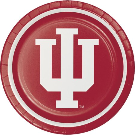 Creative Converting Indiana University Paper Plates, 8 ct