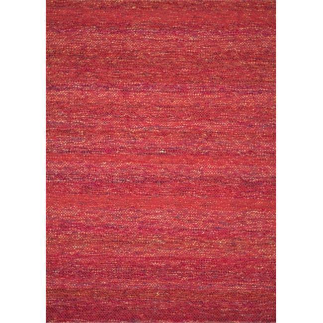 Loloi Rugs LUNALU-01RZ0093D0 9 ft. 3 in. x 13 ft. Luna Rectangular Shape Flat Weave Area Rug, Red Spice