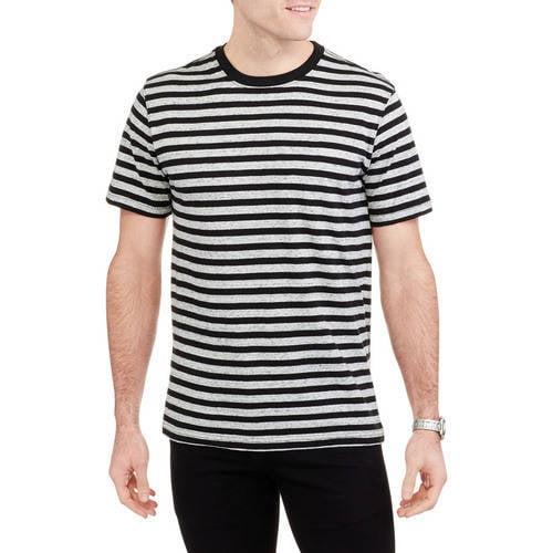Men's Short Sleeve Stripe Crew Tee