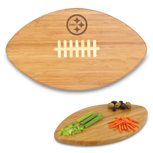 Pittsburgh Steelers Bamboo Touchdown Cutting Board - No Size