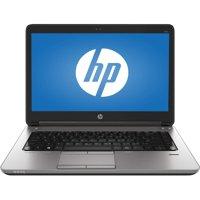 Certified Refurbished HP ProBook 640 G1 Intel i5-4310M 8GB RAM 500GB HDD Win 10 Home Webcam B Grade