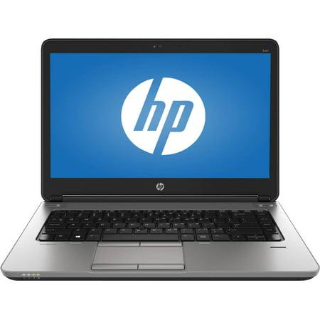 Certified Refurbished HP ProBook 640 G1 Intel i7-4600M 2.90GHz 8GB RAM 256GB SSD Win 10 Pro