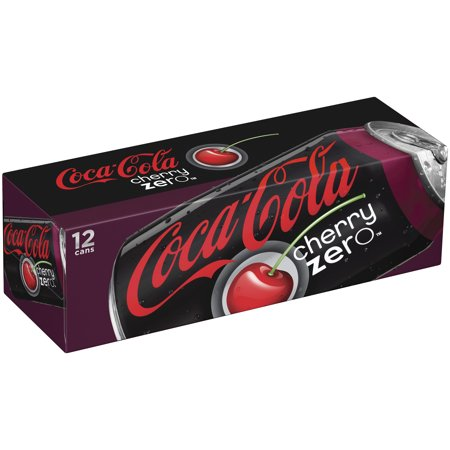 coca cola cherry zero fridge pack cans 12 fl oz 12 pack. Black Bedroom Furniture Sets. Home Design Ideas