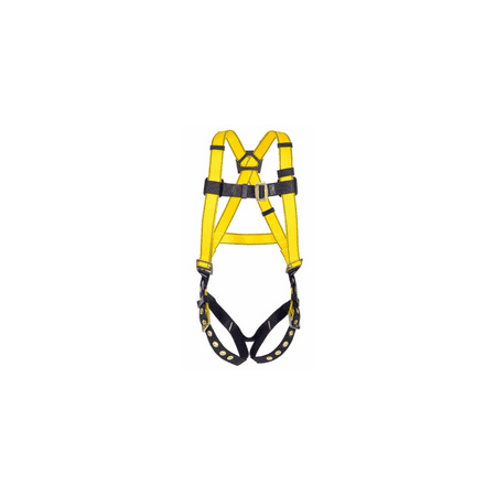 MSA Standard Workman Vest Style Harness WIth Quik-Fit