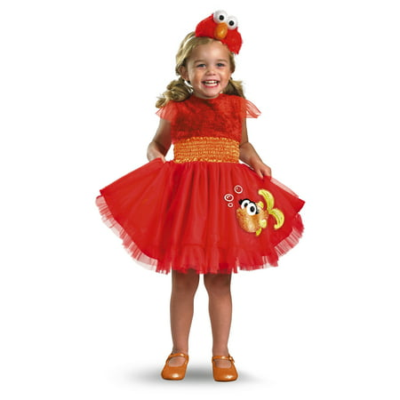 Frilly Elmo Toddler Halloween Costume](Elmo Costume Rental)