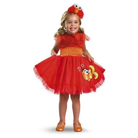 Frilly Elmo Toddler Halloween - Elmo Toddler Costume