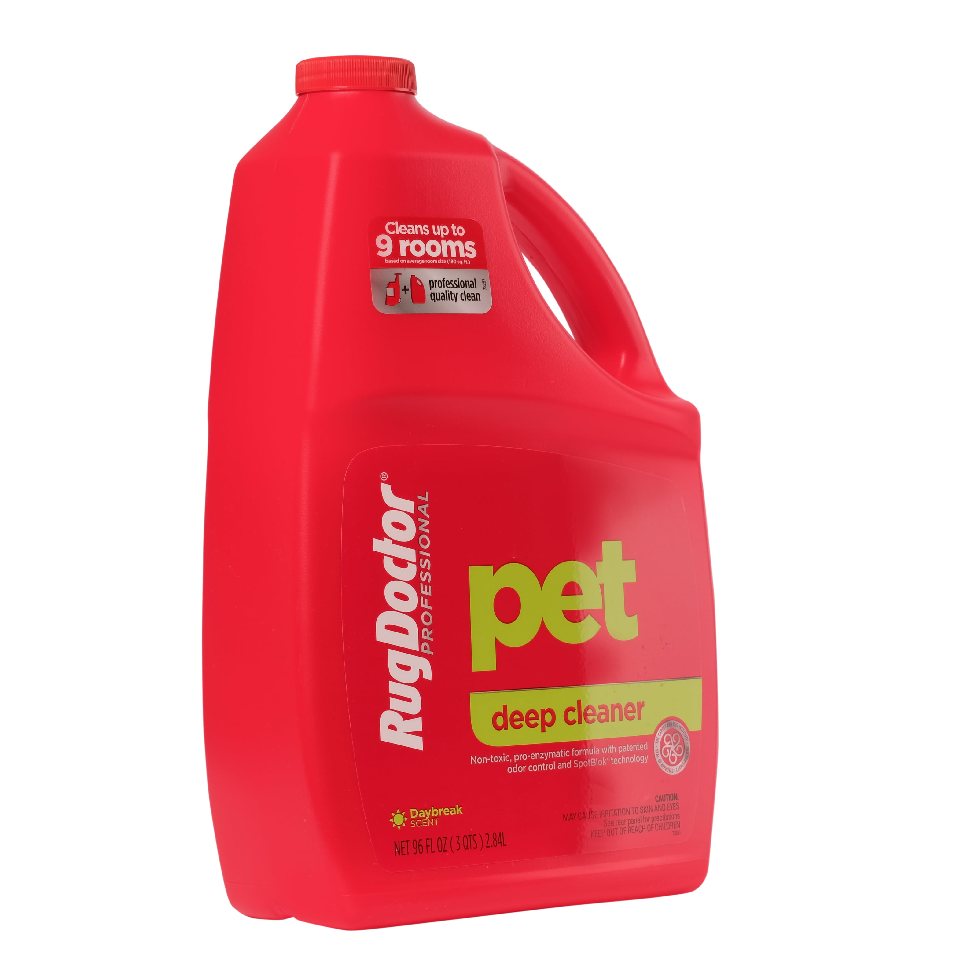 Rug Doctor Pet Deep Cleaner Non Toxic Concentrated Carpet