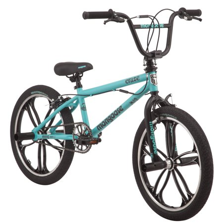 Mongoose Craze Freestyle BMX Bike, 20