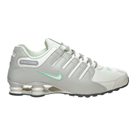 62b2dd5b5cf7cf Nike - Nike Shox NZ Women s Shoes Light Bone Sail Light Iron Ore 636088-002  - Walmart.com