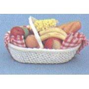 Dollhouse Fruit Basket