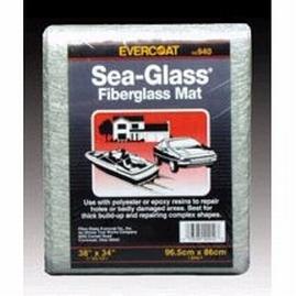 "Evercoat Marine 100940 Sea-Glass 38"" x 34"" 1.50 oz Fiberglass Mat"