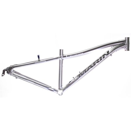 22  Marin Bolinas Ridge 26  Hard Tail Mtb Frame Brushed Silver Aluminum Nos New