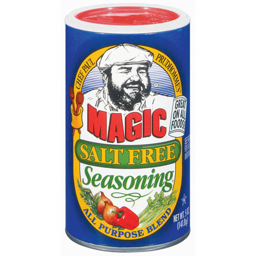 Chef Paul Prudhommes Salt Free All Purpose Blend Seasoning, 5 OZ (Pack of 6)