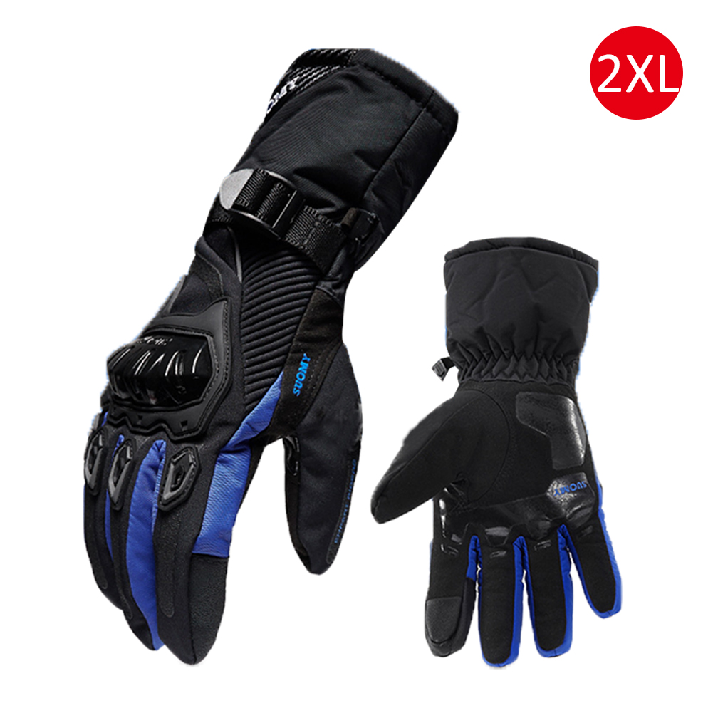 Winter Motorcycle Gloves Waterproof And Warm Four Seasons Riding Motorcycle Rider Anti-Fall Cross-Country Gloves