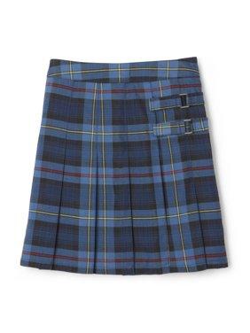 French Toast Girls Plus School Uniform Adjustable Waist Plaid 2-Tab Scooter (Plus)