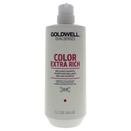 Goldwell Dualsenses Color Extra Rich Shampoo - 34 oz Shampoo Goldwell Thick Shampoo
