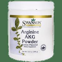 Swanson Arginine Akg Powder - Lemon Flavored 5 G 12.9 oz Pwdr