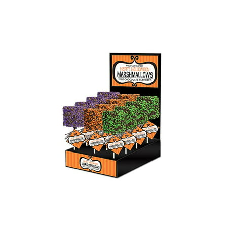 Giant Marshmallow with Halloween Sprinkles, 12 Count - Marshmallow Halloween Game