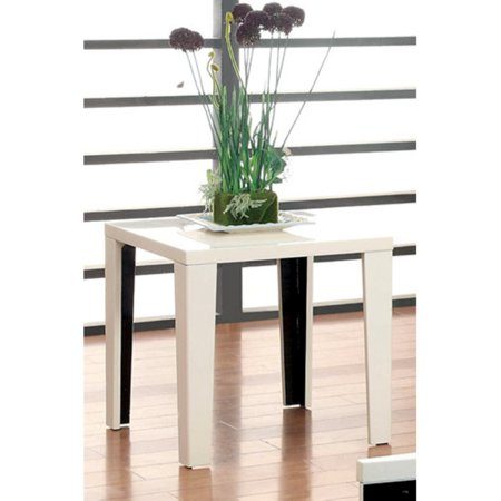 Enitial lab furniture of america marinella end table for Furniture of america enitial lab
