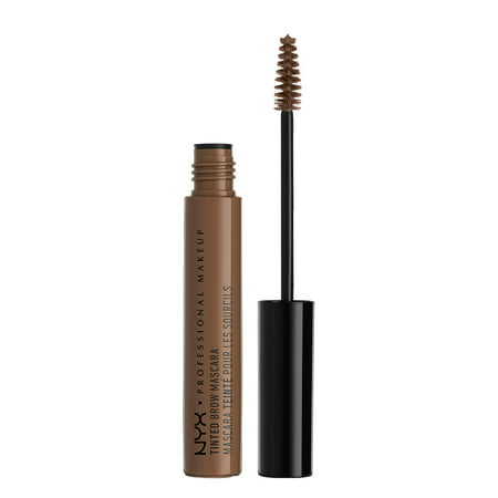 Soft Black Brow Liner - NYX Professional Makeup Tinted Brow Mascara, Chocolate