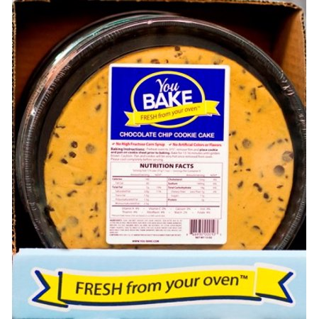 You Bake Llc 10oz Chocolate Chip Cookie Cake