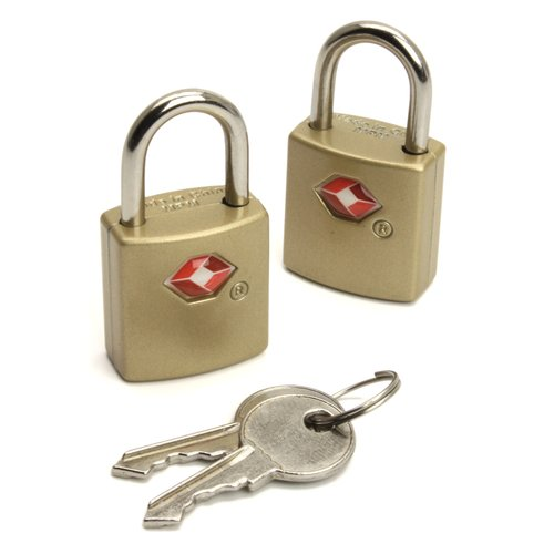 American Tourister TSA-Approved Key Locks, 2-Pack