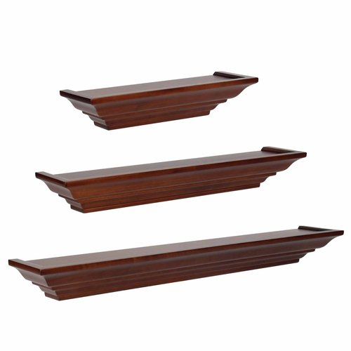 Level Line Walnut Ledge Set
