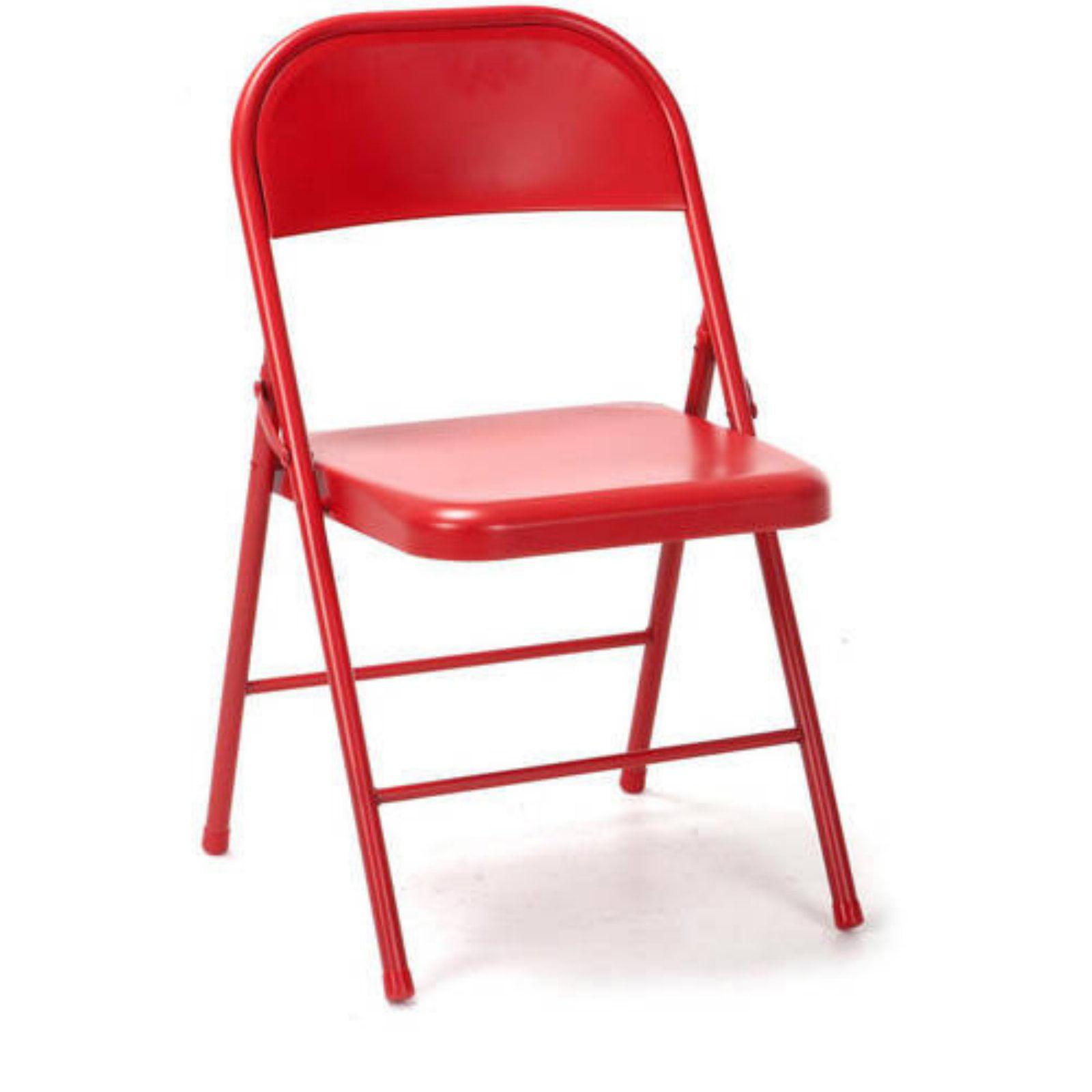 Merveilleux Novogratz All Steel Folding Chair, 2 Pack, Multiple Colors   Walmart.com