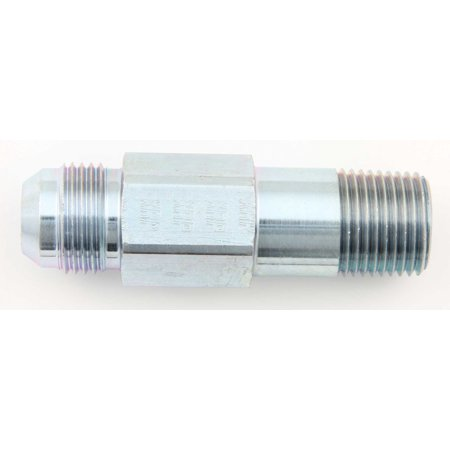 #12 Stl Short Oil Inlet Male Flare To 1/2 Npt