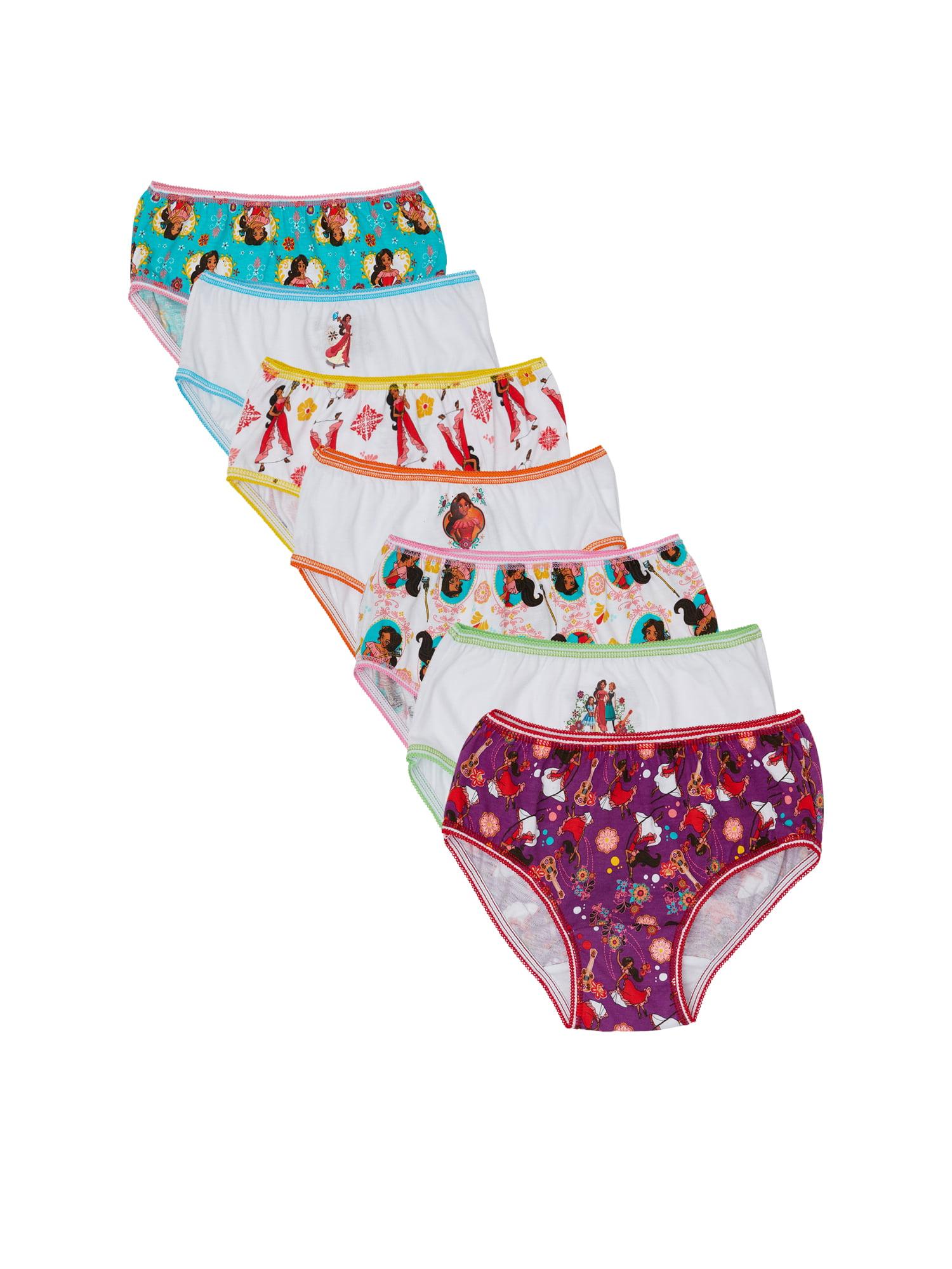 Disney Elena Of Avalor, Girls Underwear, 7 Pack Panties (Little Girls & Big Girls)