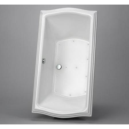 ABA789R#12YBN Drop In AirPool Bath Tub Less LED with Grab