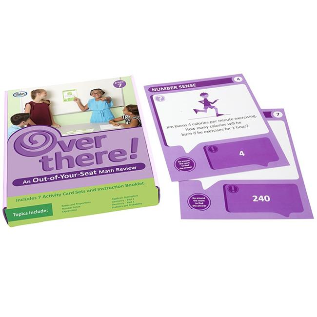 Didax DD-211209 Grade 7 Over There Math Cards - image 1 de 1